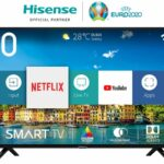 Hisense H40BE5500 Full HD, Display technology LED, Screen shape