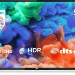Philips 58PUS6203/12 58-Inch 4K Ultra HD Smart TV with HDR Plus and Freeview Play - Black (2018/2019 Model) [Energy Class A+]