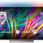 Philips 55PUS8303/12 55-Inch 4K Ultra HD Android Smart TV with Ambilight 3-sided, HDR Premium, P5 perfect picture engine (2018 model) [Energy Class A]