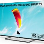 TCL 50EP668 50 Inch Metallic Boundary-less Smart 4K UHD TV, HD