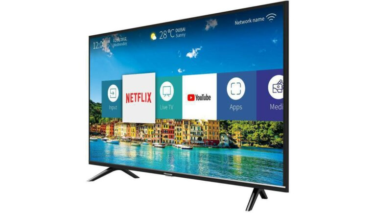 Hisense H32BE5500 : a TV set mid-range